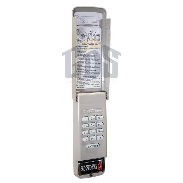 Chamberlain 940ev Garage Door Opener Wireless Keypad