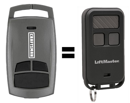 Sears Craftsman 30499 Remote Liftmaster 890max Remote