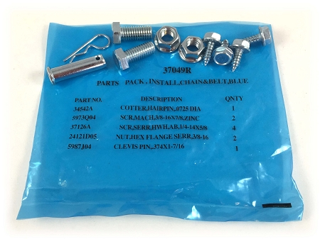 37049r Genie Blue Parts Bag