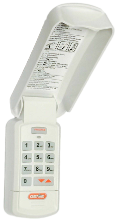 Gk Bx Genie Wireless Keypad Intellicode Code Dodger Units
