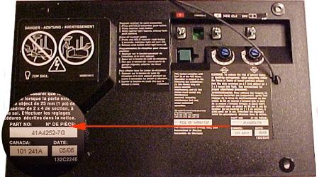 41a4252 7g Liftmaster Logic Board