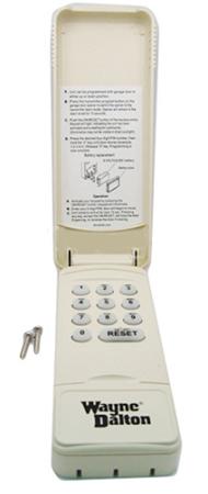 Wd 334642 Wayne Dalton Wireless Keypad 372 Mhz Only